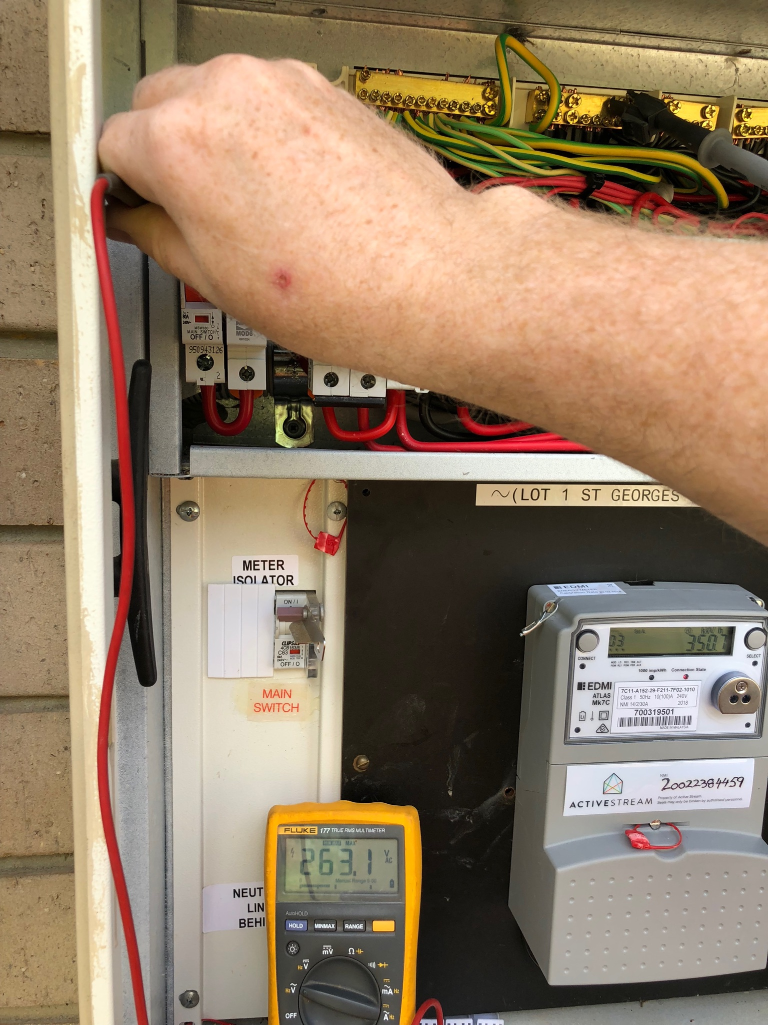 Australian standards say voltage should be between 216 - 253 volts. Higher voltages cause appliance damage and solar and battery lock-out.