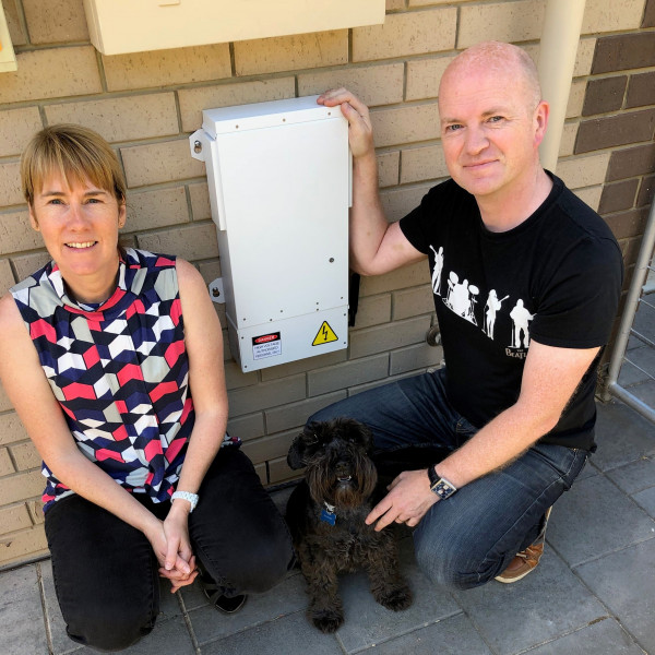 """After a long time struggling with high grid voltage switching off my solar and battery, this new technology saved the day, thanks to Edge for not only saving me money but my sanity"" - Lee, SA"